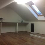 Small Low Budget Loft Conversion for Office Space